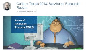 Care au fost trendurile si rezultatele in ceea ce priveste contentul in 2018