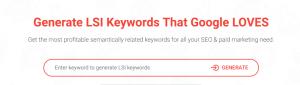 Un tool ce poate fi folosit pentru gasirea cuvintelor LSI pe care sa le incluzi in contentul tau