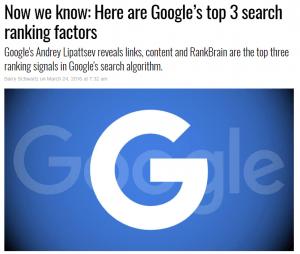 Factori dupa care Google isi face clasificarile
