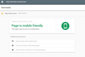 Raportul pentru accesabilitatea de pe mobil realizate de Google Search Console