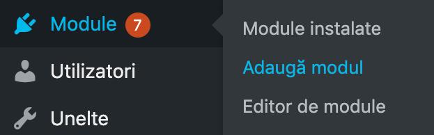 Wordpress Admin Zona Module