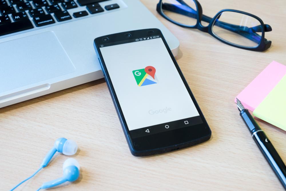 Google maps pentru afaceri