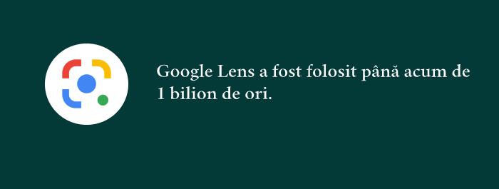 Cateva statistici cu privire la Google Lens, indreptata catre cautarile vizuale